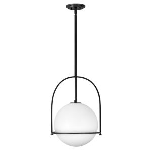 Somerset Black 16-Inch One-Light Pendant