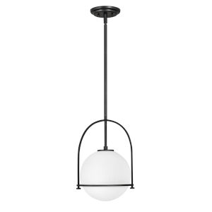 Somerset Black 12-Inch One-Light Pendant