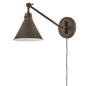 Arti Olde Bronze Eight-Inch One-Light Wall Sconce