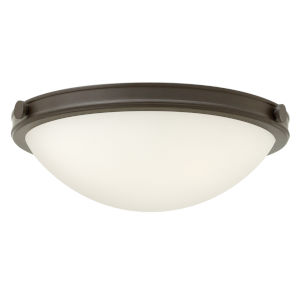 Maxwell Oil Rubbed Bronze 14-Inch LED Flush Mount