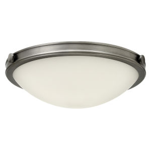 Maxwell Antique Nickel 19-Inch LED Flush Mount