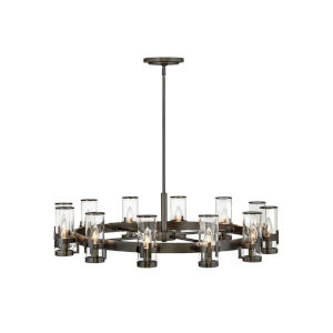 Reeve Black Oxide 12-Light Chandelier