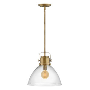 Malone Heritage Brass One-Light Pendant