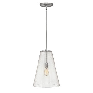 Vance Polished Nickel One-Light Pendant