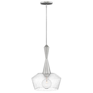 Bette Polished Nickel 15-Inch One-Light Pendant
