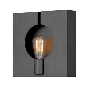 Ludlow Brushed Graphite One-Light Sconce