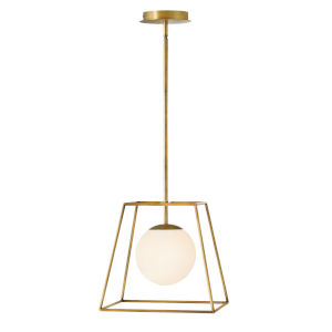Jonas Heritage Brass One-Light Pendant