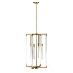 Kellen Lacquered Brass 20-Inch Four-Light Pendant