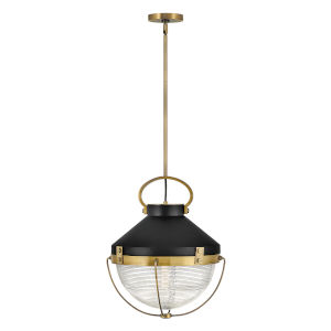Crew Heritage Brass 16-Inch One-Light Pendant