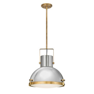 Nautique Heritage Brass 18-Inch One-Light Pendant