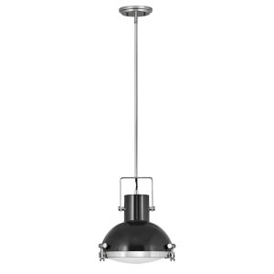 Nautique Polished Nickel 13-Inch One-Light Pendant
