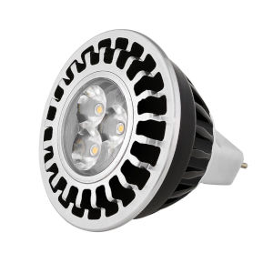 Black Landscape MR16 LED Bulb with 45 Degree, 3000K