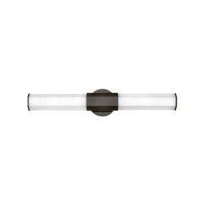 Facet Black Oxide 26-Inch Two-Light LED Bath Vanity