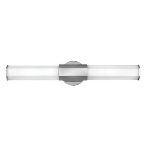 Facet Polished Nickel 26-Inch LED ADA Bath Sconce