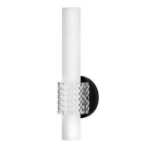 Vivi Black LED Bath Sconce