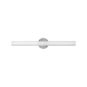 Vivi Brushed Nickel LED Bath Bar