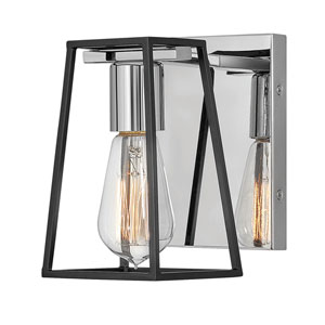 Filmore Chrome One-Light Bath Sconce