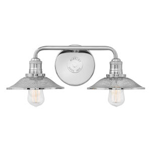 Rigby Polished Nickel Two-Light Bath Vanity