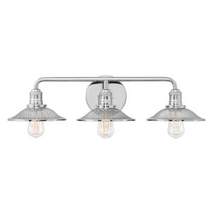 Rigby Polished Nickel Three-Light Bath Vanity