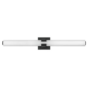 Aiden Black 31-Inch LED ADA Bath Sconce