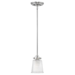 Bennett Polished Nickel One-Light Mini Pendant