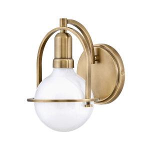 Somerset Heritage Brass One-Light Bath Vanity