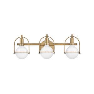 Somerset Heritage Brass Three-Light Bath Vanity