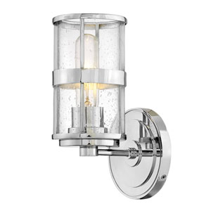 Noah Chrome One-Light Bath Sconce