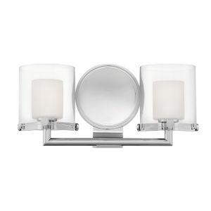 Rixon Chrome Two-Light LED Bath Vanity