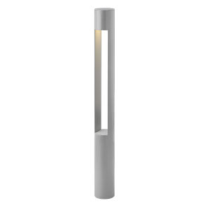 Atlantis Titanium 3000K LED Bollard Light with Etched Lens