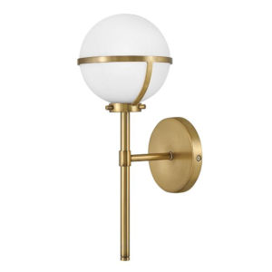 Hollis Heritage Brass Six-Inch Led Bath Vanity