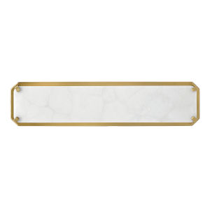 Serene Heritage Brass 20-Inch Led Ada Bath Bar