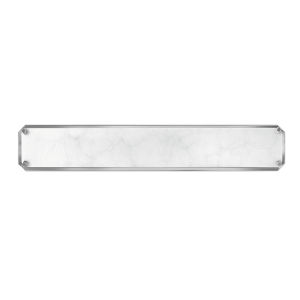 Serene Polished Nickel 26-Inch Led Ada Bath Bar