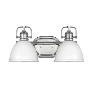 Rowan Chrome Two-Light Bath Vanity