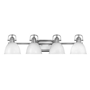 Rowan Chrome Four-Light Bath Vanity