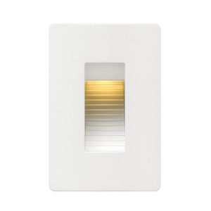Luna Satin White LED Deck Light