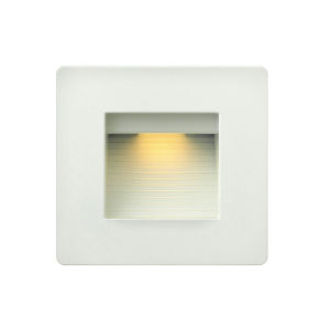 Luna Satin White 5-Inch LED Deck Light