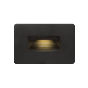 Luna Satin Black 3000K LED Deck Light