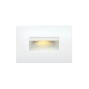 Luna Satin White 5-Inch 3000K LED Deck Light