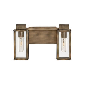 Sag harbor Burnished Bronze Two-Light Bath Vanity