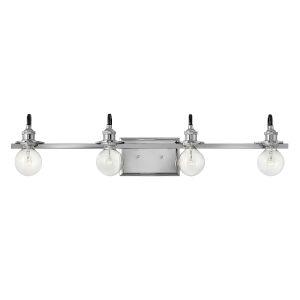Baxter Polished Nickel Four-Light Bath Vanity