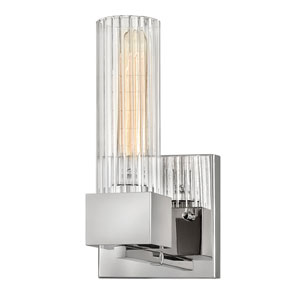 Xander Polished Nickel One-Light Bath Sconce