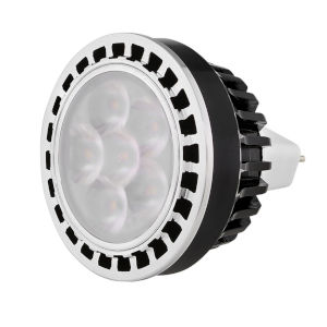 Black Landscape MR16 LED Bulb with 15 Degree, 3000K, 6W