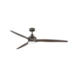 Artiste Metallic Matte Bronze LED 72-Inch Ceiling Fan