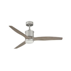 Hover Brushed Nickel LED 52-Inch Ceiling Fan