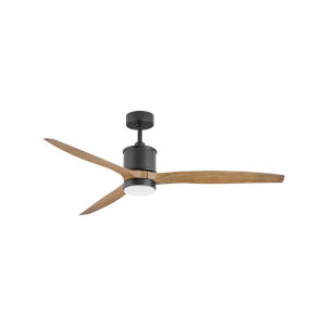 Hover Matte Black LED 60-Inch Ceiling Fan