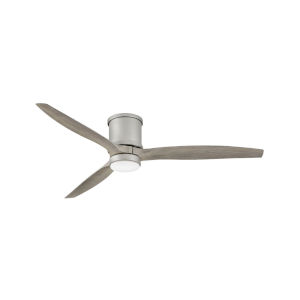 Hover Flush Brushed Nickel LED 60-Inch Ceiling Fan