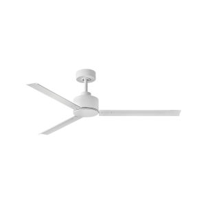 Indy Matte White 56-Inch Ceiling Fan