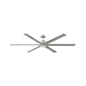 Indy Maxx Brushed Nickel 82-Inch LED Indoor Outdoor Fan