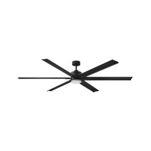Indy Maxx Matte Black 82-Inch LED Indoor Outdoor Fan